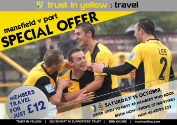 Mansfield v Southport - Special offer
