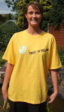 Trust In Yellow t-shirt